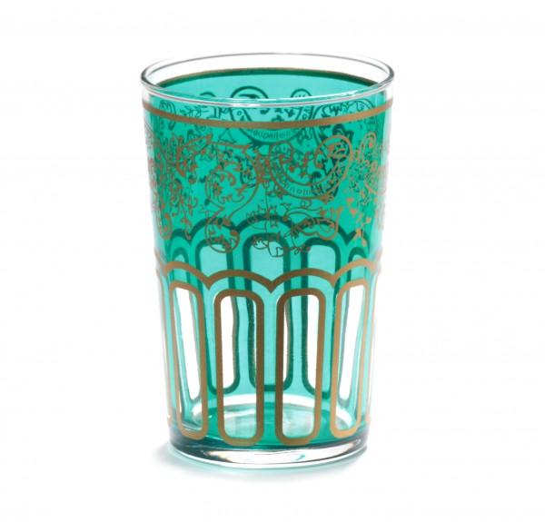 "Teeglas ""Hasssieb"" grün"
