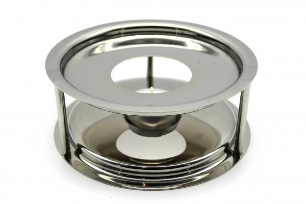 Stövchen Edelstahl Durchmesser ca. 15 cm