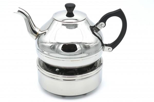 Universal -Teekanne Ceylon mit Teewärmer / Stövchen