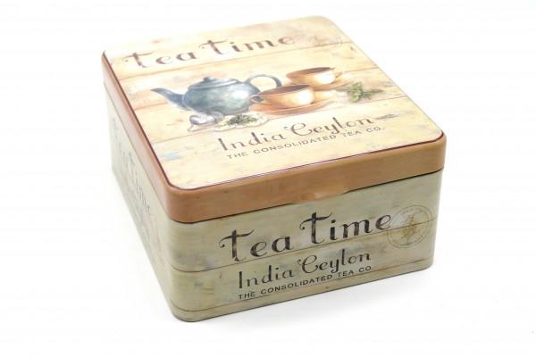 "Dose ""Tea Time / Indian Ceylon"" Teebeutel-Dose"