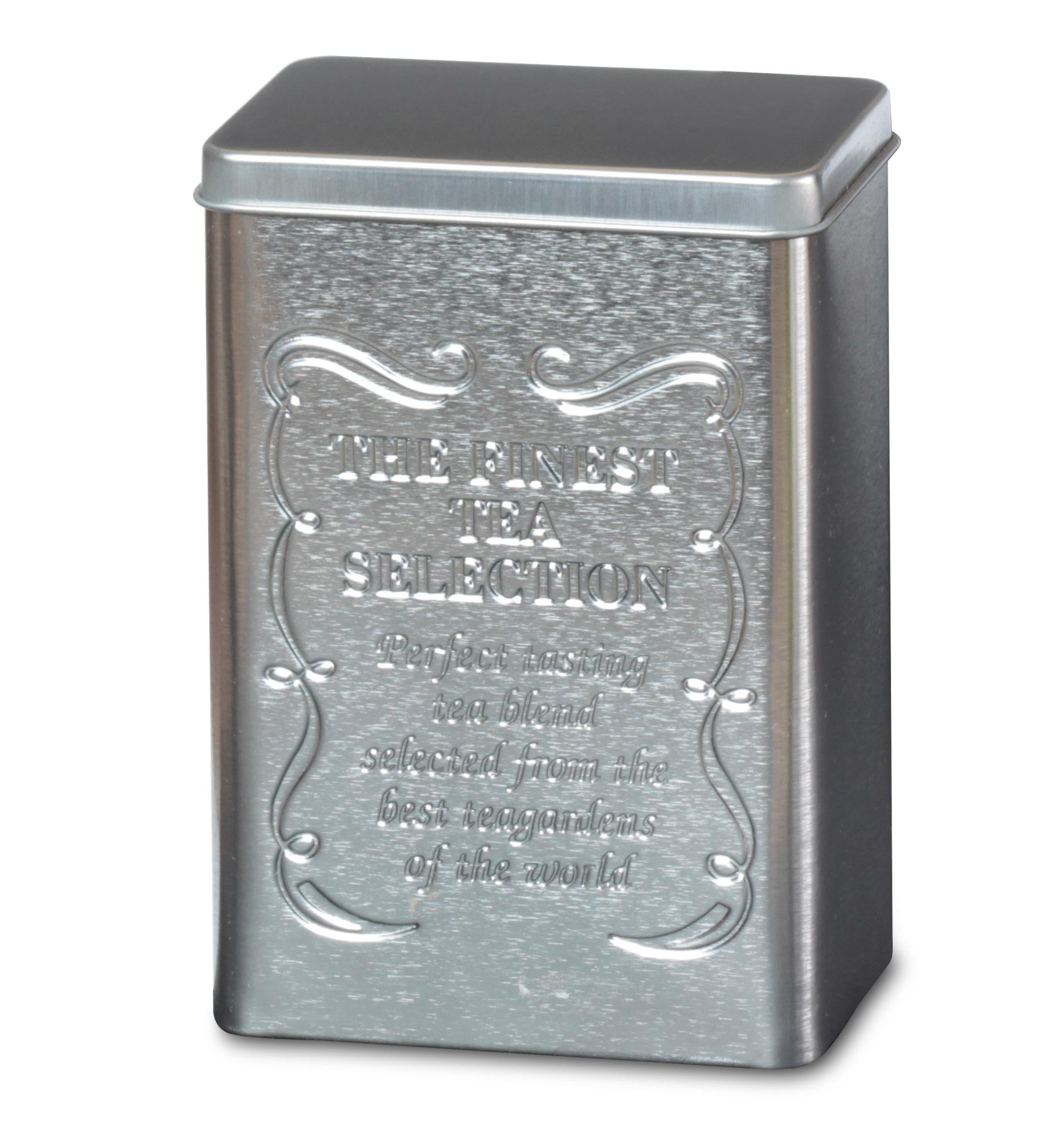 200 gr Tee Dose aus Metall Vorratsdose für ca Teedose Tee Gold