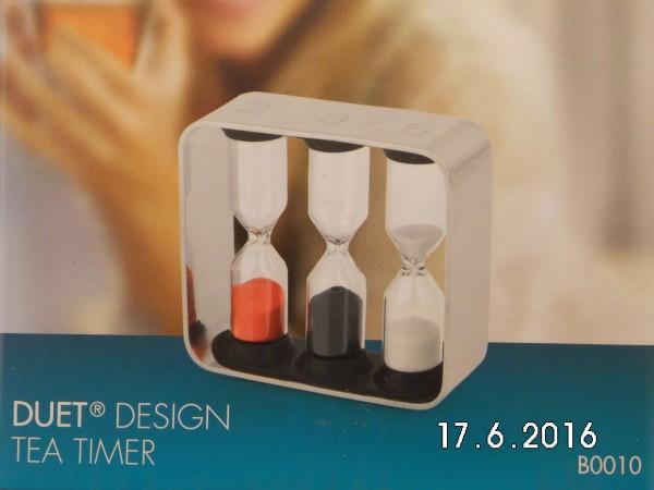 Duet Design Tea Timer Dreifach