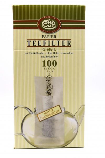 """Teefilter Papier breit """"L"""""""