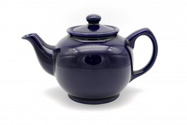 Teekanne dunkelblau 0,8 Liter