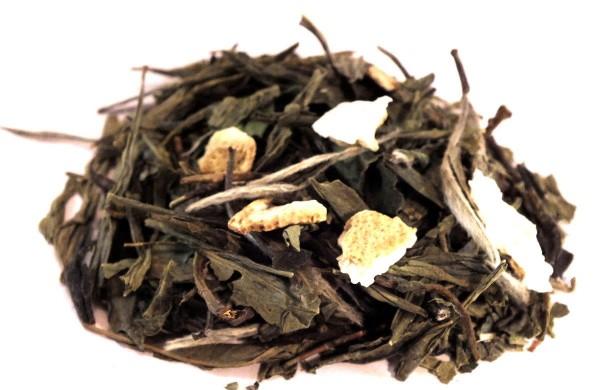 GRÜNTEEPFUND – ZITRONE Grüner Tee - Premium-Blend - aromatisiert