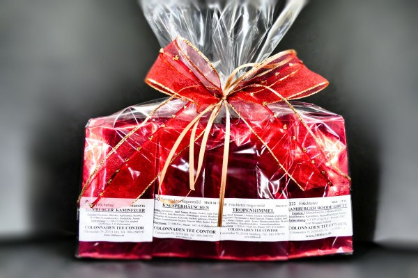 FRÜCHTETEE SET, als Geschenk verpackte Früchtetees