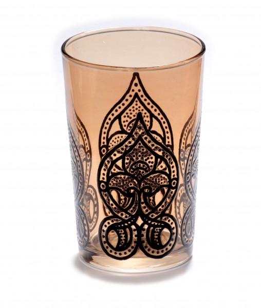 """Teeglas """"Salwa"""", braun"""