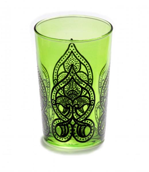 "Teeglas ""Salwa"", grün"