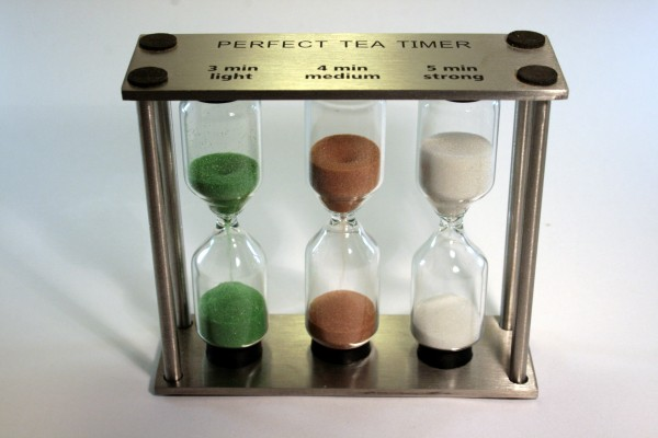 SANDUHR Perfect Tea Edelstahl