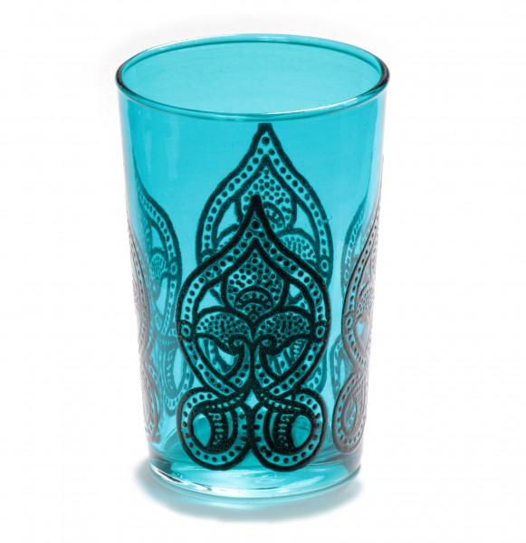 """Teeglas """"Salwa"""", türkis"""