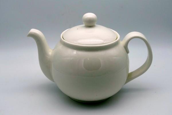 Teekanne weiß 1,2 Liter