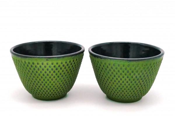 "Eisen-Cups ""Xilin"" 2er-Set, grün"