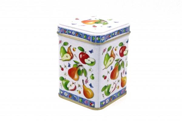 """Dose """"Äpfel und Birnen"""""""