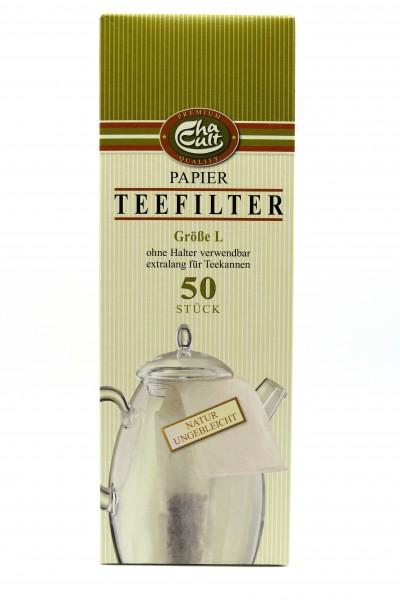 """TEEFILTER-PAPIER """"L (schmal)"""""""