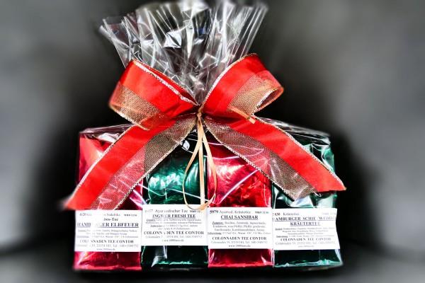 KRÄUTER TEE-SET, als Geschenk verpackte Kräuter-Tees (Mix)